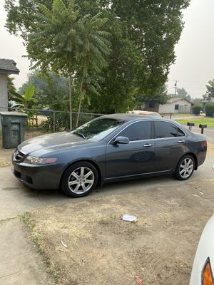 2004 Acura TSX parts only!!!! (front end and motor sold) for Sale in Fresno, CA
