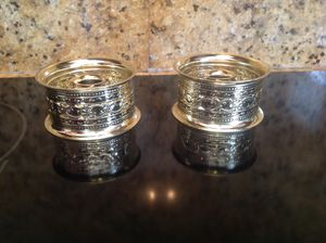 2 Metal Candle Stick Holders for Sale in Miami, FL