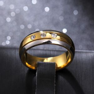 Unisex- 18K Gold plated Engagement / Wedding Ring- Code AM1012 for Sale in Dallas, TX