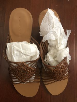 Brown banana republic wedge sandals size 7 for Sale in Irvine, CA