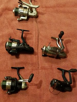 Reels assorted fishing freshwater for Sale in Fresno, CA