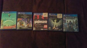 Six ps4 games. Ten each for Sale in Tucson, AZ