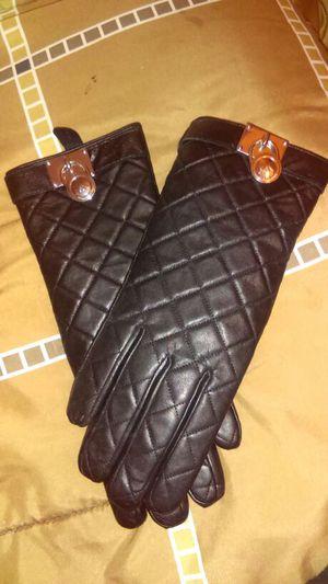 Michael Kors leather gloves for Sale in South Salt Lake, UT