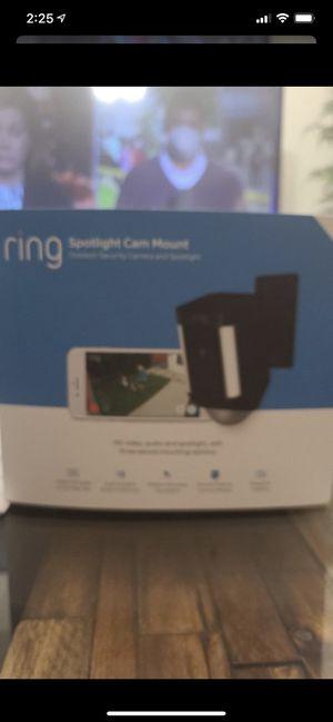 Ring spotlight cam mount for Sale in Las Vegas, NV