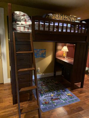Pottery Barn Camp Twin Bunk Bed System for Sale in Seattle, WA