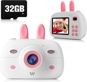 Brand new in box Kids Camera, 8.0MP 1080P Digital Video Camera Rechargeable Child Camcorder Shockproof Kids Toy Camera With 2.4″ IPS Screen, 32GB TF for Sale in Kirkland, WA