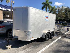 Trailer enclosure 6x12 double doors year 2015 for Sale in Boca Raton, FL