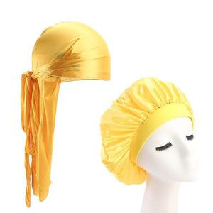 Yellow Silky Durag & Bonnet Set for Sale in Columbus, OH