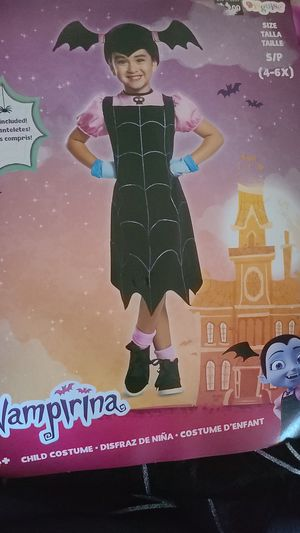 Vampirina kid costume for Sale in San Diego, CA