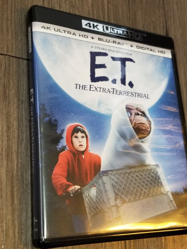 E.T. The Extra-Terrestrial (4k Ultra HD Blu-Ray, 2017, 2-Disc Set 35th Anniv)