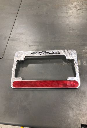Harley Davidson license plate frame for Sale in Stow, MA