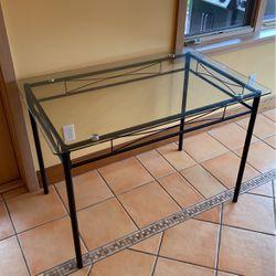 Glass Table/Desk for Sale in Medina,  WA