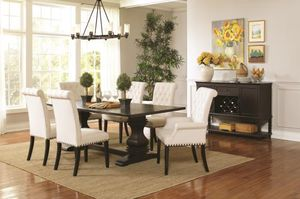 Coaster 7 Pc Dining Table Set for Sale in Richardson, TX