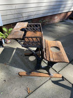 Antique school desk. for Sale in Midlothian, VA