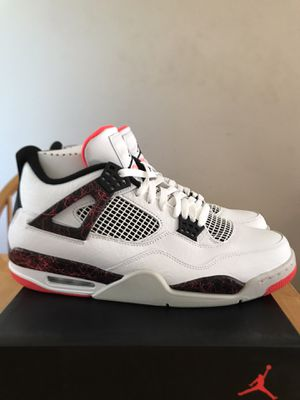 Brand new Nike air Jordan 4 retro pale citron premium shoes men's size 12.5 for Sale in Spring Valley, CA