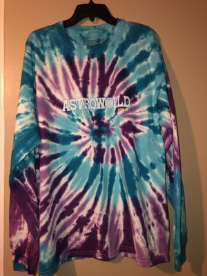 "Astroworld ""wish you were here"" Tie Dye Long Sleeve XL for Sale in Woodbridge, VA"