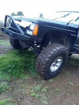 Jeep xj winch bumper custom bumpers. for Sale in Vancouver, WA