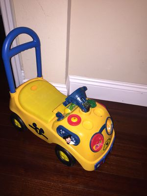 Mickey Mouse school bus car for kids toddlers baby's vehicle toys push car for Sale in Westchase, FL