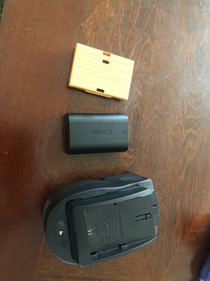Canon battery and charger for sale for Sale in Eugene, OR