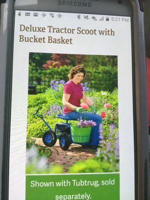 Garden tractor scoot for Sale in Pittsburg, CA