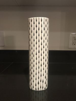 Vietnamese Black and White Vase (handmade) for Sale in Washington, DC