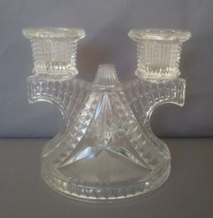Glass candelabra vintage for Sale in Perris, CA