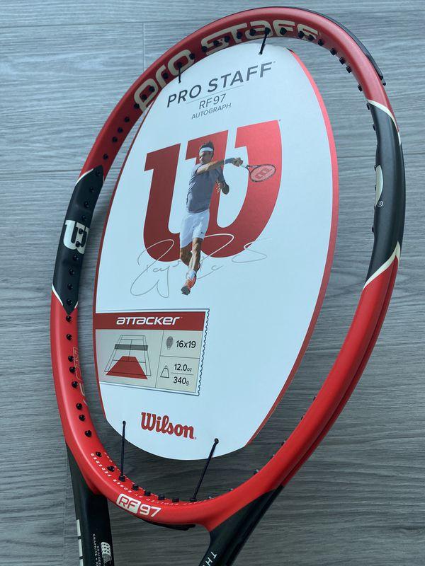 Wilson Pro Staff RF97 2015 Roger Federer Autograph Tennis Racket L3 - 4 3/8 NEW
