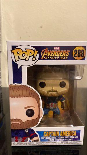 Brand new Captain America funko pop (288) for Sale in Huntington Beach, CA