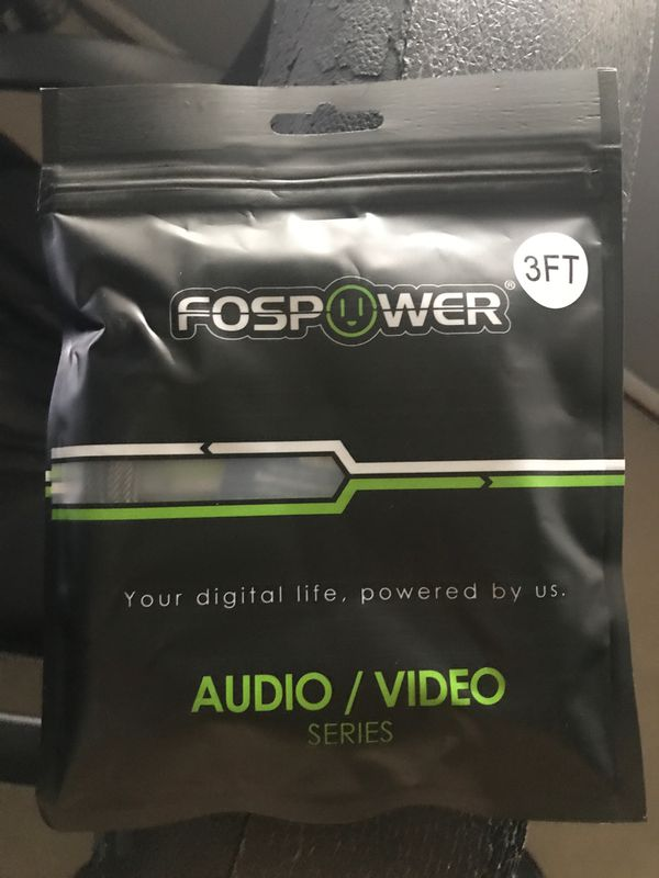 Toslink Digital Audio Cable -3 Feet - Brand New