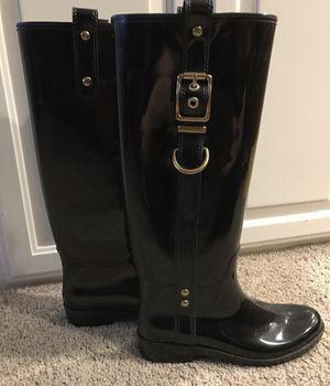 NEW Coach Fashion Rain Boots - size 6 for Sale in Federal Way, WA