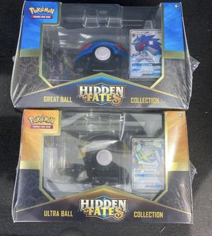 Hidden Fates Pokémon Boxes 2x for Sale in Bloomfield, NJ