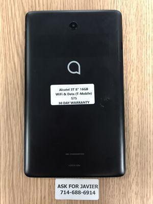 """Alcatel 3T 8"""" 16GB READ THE DESCRIPTION for Sale in Orange, CA"""