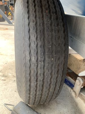 Trailer tires and rims lt 205/75/14 All 4 for Sale in North Springfield, VA
