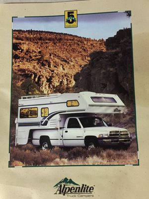 '94 Alpenlite 11ft Camper Fully Loaded Used 6 times for Sale in Maple Valley, WA