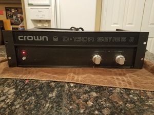 Crown D150a Series ll Stereo Amplifier for Sale in Vancouver, WA