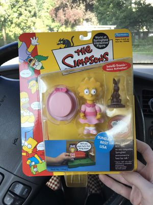 Super rare Simpsons Lisa toy with voice activation. for Sale in Portland, OR