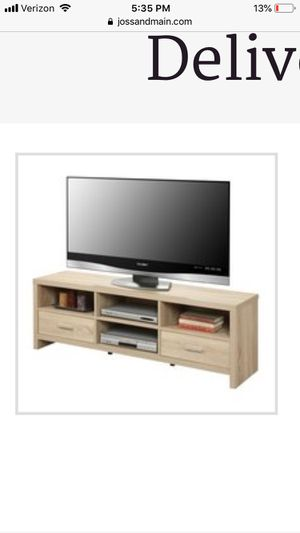 """60"""" media tv stand for Sale in Baltimore, MD"""