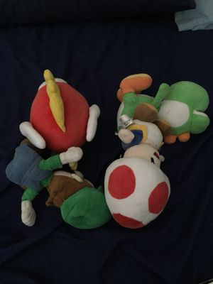 Mario plushies for Sale in Redlands, CA