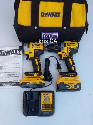 Dewalt xr brushless drill combo for Sale in Industry, CA