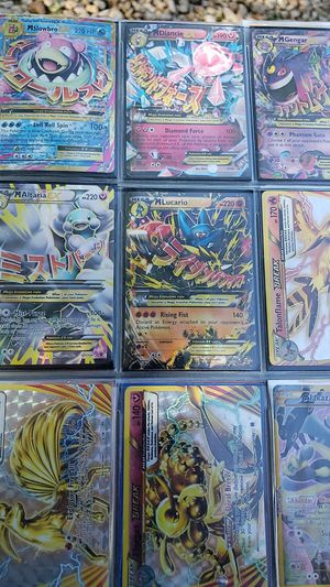 9 holographic pokemon cards holo ex gx for Sale in Queen Creek, AZ