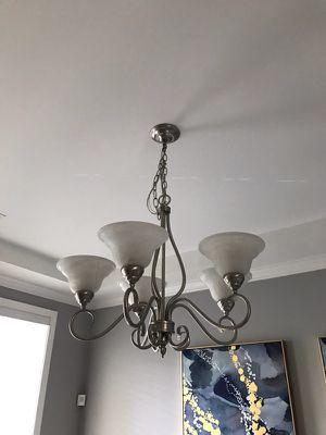 Beautiful chandelier hanging light pendant light for Sale in Smyrna, GA