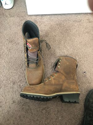 Redwing work boots waterproof Steel toe boots for Sale in Shafter, CA