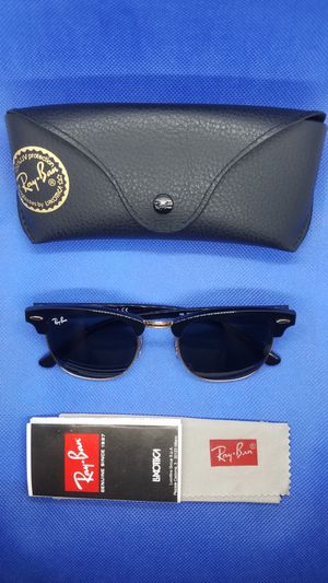 RAY BAN CLUBMASTER SUNGLASSES for Sale in Phoenix, AZ