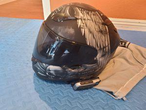 Shoei Merciless RF-1100 Street Bike Motorcycle Helmet - TC-5 / Medium 2 shields, scala rider G9x Bluetooth headset communicator for Sale in Las Vegas, NV
