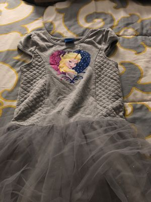Disney Elsa Frozen Tutu Dress Size 5T for Sale in Charlotte, NC