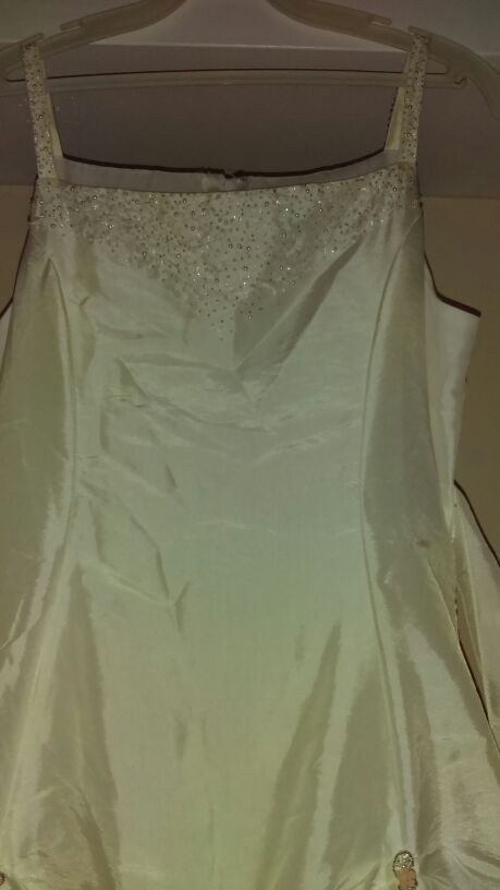 Jr Bride gown
