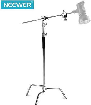 Neewer Pro 100% Metal Max Height 10ft/305cm Adjustable Reflector Stand with 4ft/ for Sale in Smyrna, TN