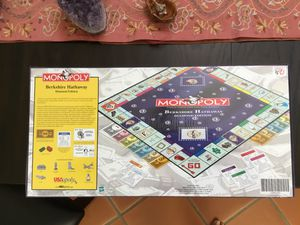 Berkshire Hathaway diamond edition Monopoly game. BRAND NEW. Shrink wrap, still sealed. for Sale in Apache Junction, AZ