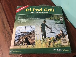 Do you like camping? the tri-pod grill is the perfect way to cook your breakfast. for Sale in Greenville, MS