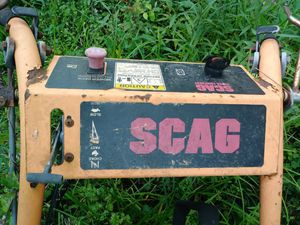 Scag walk behind mower for parts or fix , doesn't run for Sale in Pass Christian, MS